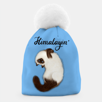Thumbnail image of Himalayin' (Blue) Beanie, Live Heroes