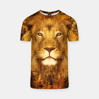 Thumbnail image of Brown Lion Tshirt, Live Heroes