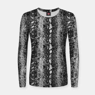 Thumbnail image of Grey Black Snake Sweater, Live Heroes