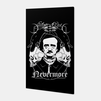Thumbnail image of Edgar Allan Poe - Nevermore Canvas, Live Heroes