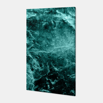 Thumbnail image of Enigmatic Deep Green Marble #1 #decor #art  Canvas, Live Heroes