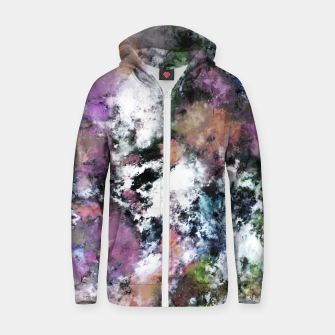 Thumbnail image of Silent surface Zip up hoodie, Live Heroes
