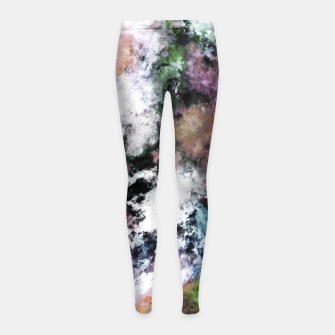 Thumbnail image of Silent surface Girl's leggings, Live Heroes