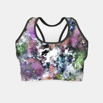 Thumbnail image of Silent surface Crop Top, Live Heroes