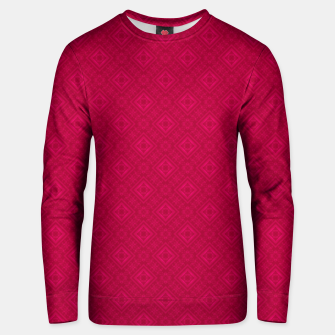 Miniaturka red ornament geometric , abstract Unisex sweater, Live Heroes