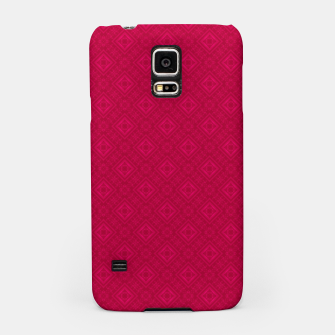 Miniaturka red ornament geometric , abstract Samsung Case, Live Heroes