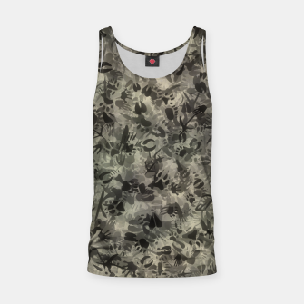 Thumbnail image of Animal footprints camouflage Tank Top, Live Heroes