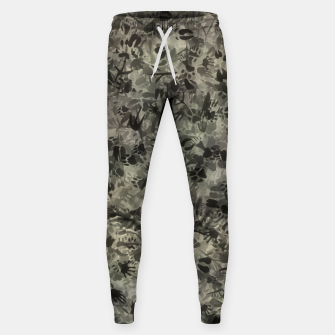 Thumbnail image of Animal footprints camouflage Sweatpants, Live Heroes