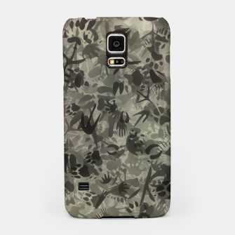 Thumbnail image of Animal footprints camouflage Samsung Case, Live Heroes