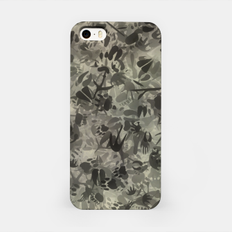 Thumbnail image of Animal footprints camouflage iPhone Case, Live Heroes