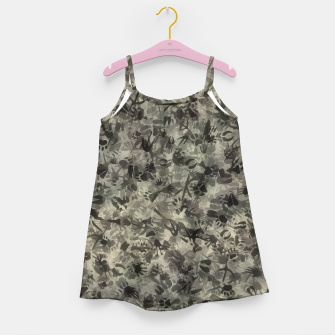 Thumbnail image of Animal footprints camouflage Girl's dress, Live Heroes