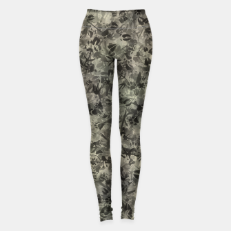 Thumbnail image of Animal footprints camouflage Leggings, Live Heroes