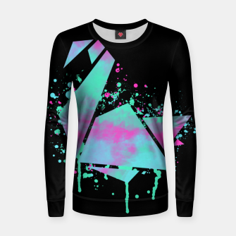 Thumbnail image of Neon Swan Women sweater, Live Heroes