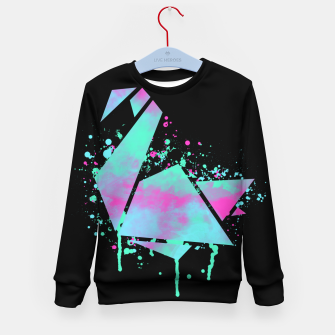 Thumbnail image of Neon Swan Kid's sweater, Live Heroes