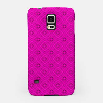 Thumbnail image of Neon bright ornamental pink pattern decoration summer  Samsung Case, Live Heroes