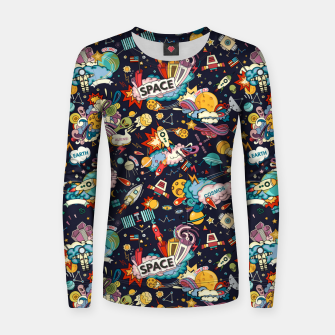 Thumbnail image of Cosmos Women sweater, Live Heroes