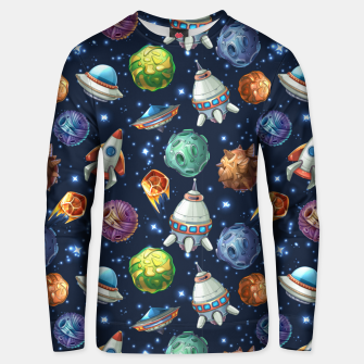 Thumbnail image of Space Planets Unisex sweater, Live Heroes