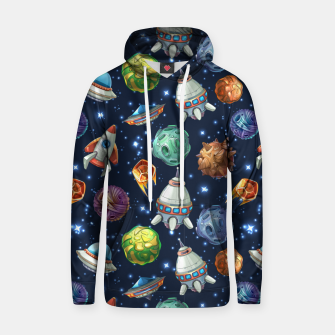 Thumbnail image of Space Planets Hoodie, Live Heroes