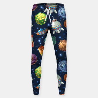 Thumbnail image of Space Planets Sweatpants, Live Heroes