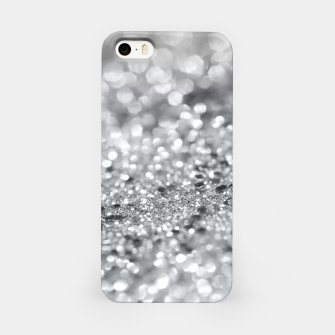Thumbnail image of Silver Gray Lady Glitter #1 #shiny #decor #art iPhone-Hülle, Live Heroes