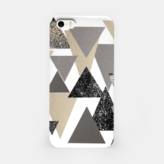 Thumbnail image of Geometric Triangles Glitter Dream #2 #minimal #decor #art iPhone-Hülle, Live Heroes
