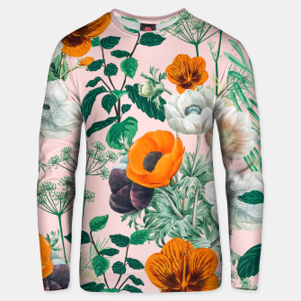 Thumbnail image of Wildflowers Unisex sweater, Live Heroes