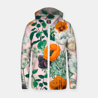 Thumbnail image of Wildflowers Zip up hoodie, Live Heroes