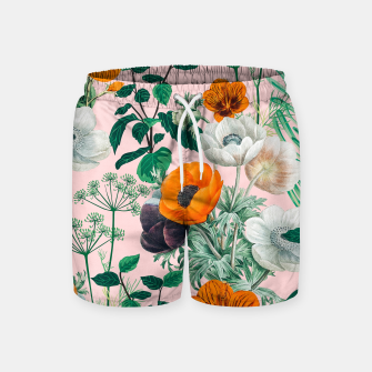 Thumbnail image of Wildflowers Swim Shorts, Live Heroes