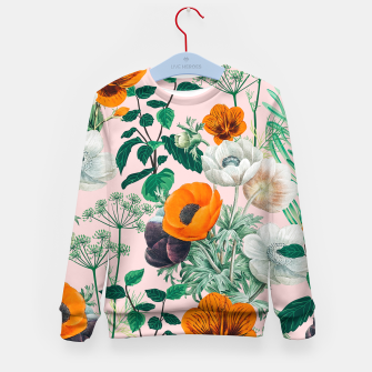 Thumbnail image of Wildflowers Kid's sweater, Live Heroes