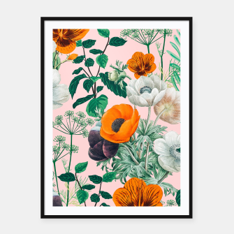 Thumbnail image of Wildflowers Framed poster, Live Heroes
