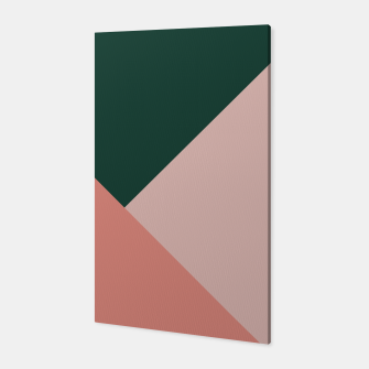 Thumbnail image of Geometric Summer Delight #1 #minimal #decor #art  Canvas, Live Heroes
