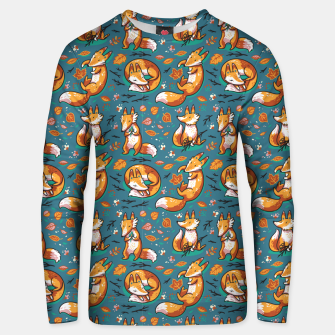 Thumbnail image of Cute Foxes Unisex sweater, Live Heroes