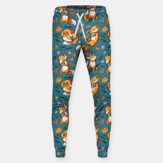 Thumbnail image of Cute Foxes Sweatpants, Live Heroes
