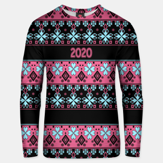 2020 , new year , ornament Unisex sweater thumbnail image