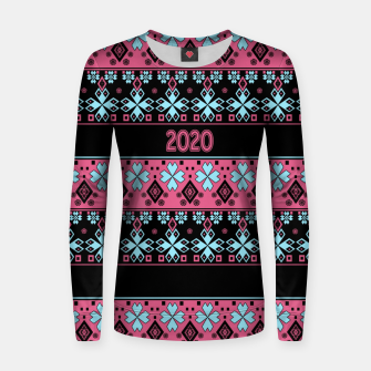 2020 , new year , ornament Women sweater thumbnail image