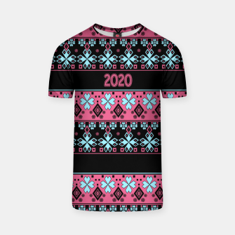 2020 , new year , ornament T-shirt thumbnail image