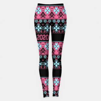 2020 , new year , ornament Leggings thumbnail image