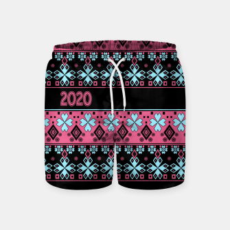 2020 , new year , ornament Swim Shorts thumbnail image