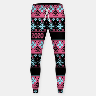 2020 , new year , ornament Sweatpants thumbnail image