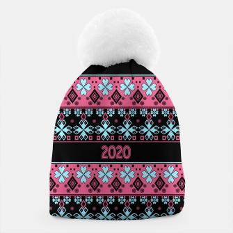 2020 , new year , ornament Beanie thumbnail image