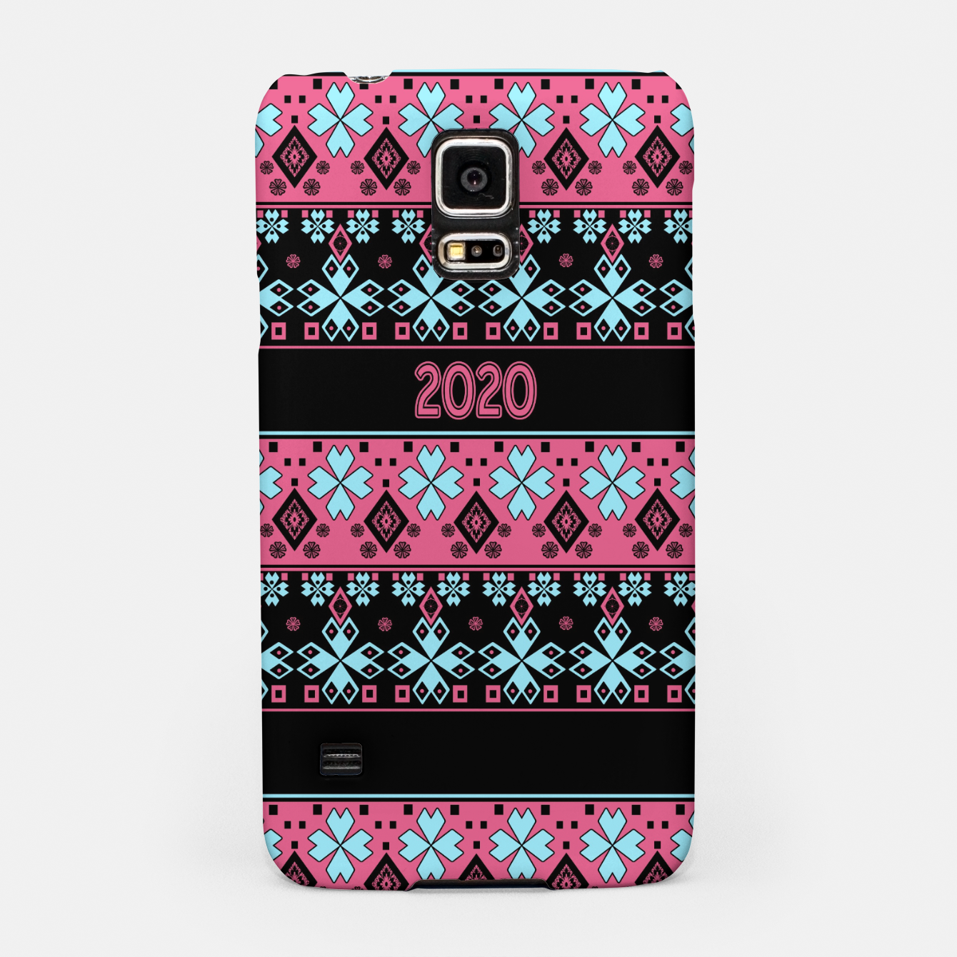 Image of 2020 , new year , ornament Samsung Case - Live Heroes