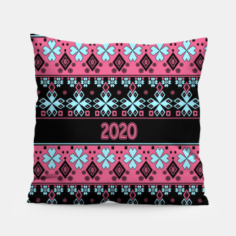 2020 , new year , ornament Pillow thumbnail image