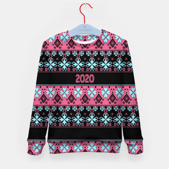 2020 , new year , ornament Kid's sweater thumbnail image