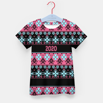 2020 , new year , ornament Kid's t-shirt thumbnail image