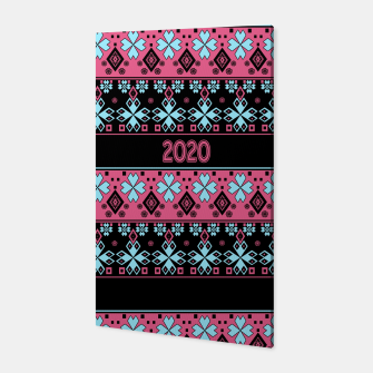 2020 , new year , ornament Canvas thumbnail image
