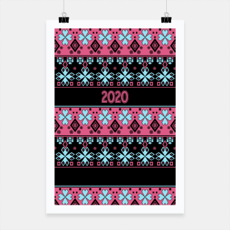 2020 , new year , ornament Poster thumbnail image