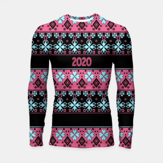 2020 , new year , ornament Longsleeve rashguard  thumbnail image