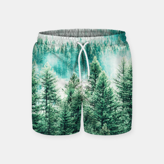 Thumbnail image of Forest and Fog Swim Shorts, Live Heroes