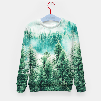 Thumbnail image of Forest and Fog Kid's sweater, Live Heroes