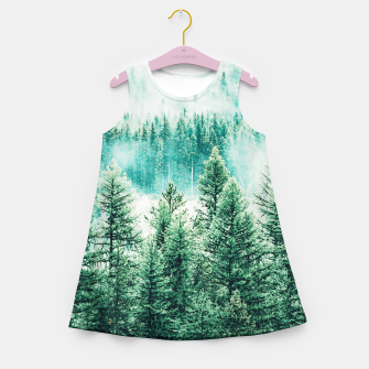 Thumbnail image of Forest and Fog Girl's summer dress, Live Heroes